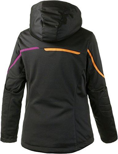 maier sports Veste de ski pour femme - Noir