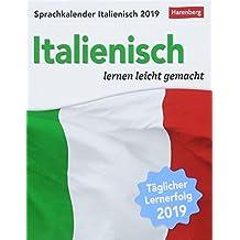 Sprachkalender Italienisch - Kalender 2019: Italienisch lernen leicht gemacht