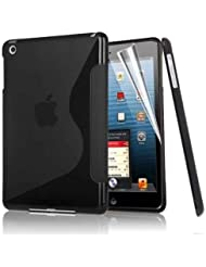 Excellent Value S Line Cover d'Apple IPAD Air vague de gel de silicone pour Apple iPad AIR NOIR