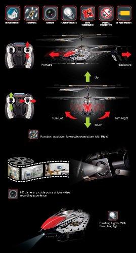 Imagen principal de Syma S107C 3 canales Helicóptero con cámara! y Control giroscopio Estabilidad