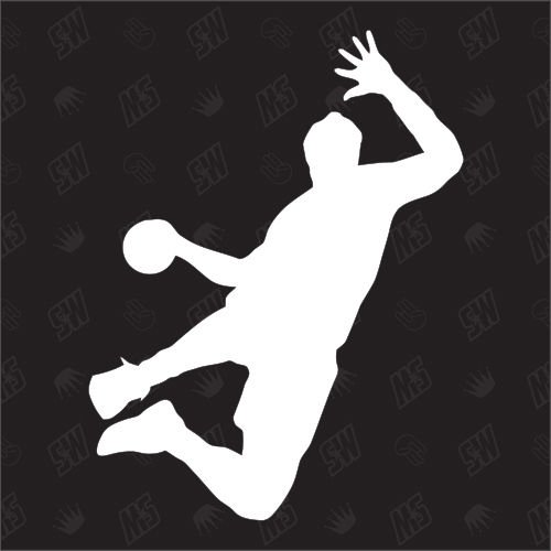 Handball - Sticker, Handballer