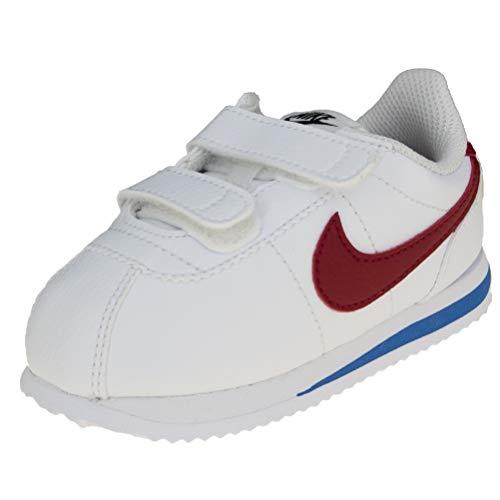 Nike Unisex-Kinder Cortez Basic SL (TDV) Laufschuhe, Weiß (White Red-Varsity Royal-Black 103), 27 EU