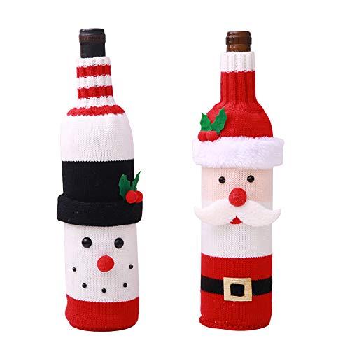 Kesote 2 Navidad Bolsas Botella Vino Bolsas Diseño
