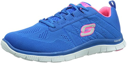 Skechers Flex AppealSweet Spot Scarpe da corsa, Donna, Blu (BLHP), 40