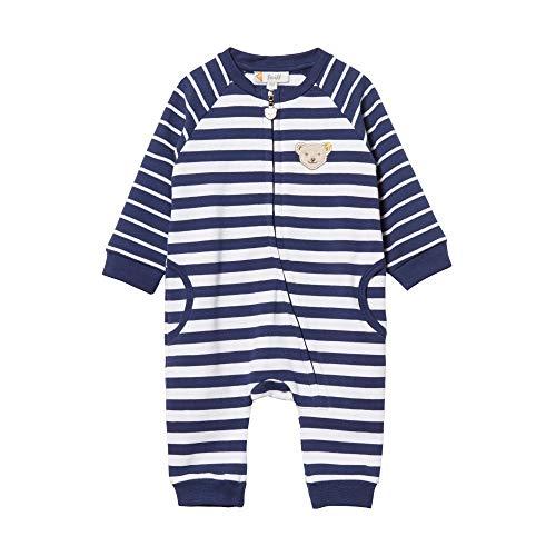 Steiff Baby - Jungen Spieler , Blau (PATRIOT BLUE 6033) , 74 (Herstellergröße:74)
