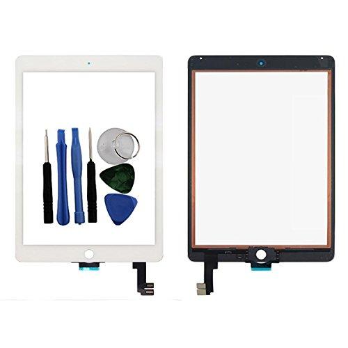 BisLinks®® Für iPad Air 2 Berühren Bildschirm Digitizer Glas Weiß 6 Gen A1566 A1567 Tools