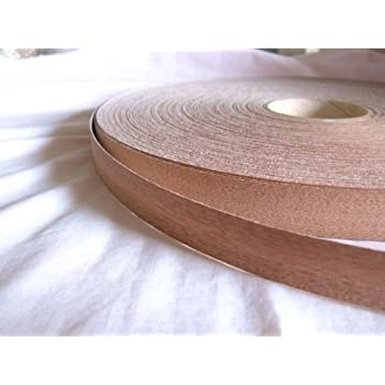 Pre Glued Iron on Wenge Wood Veneer Edging Tape Fast Dispatch* 22mm x 10metres *Free Postage