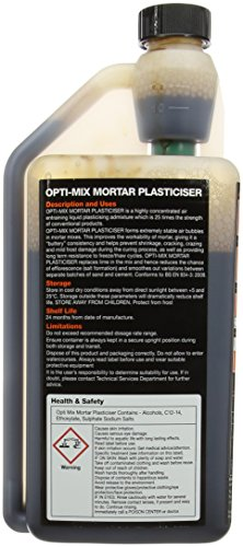 Everbuild optimix1opti-mix Mörtel Weichmacher 1L
