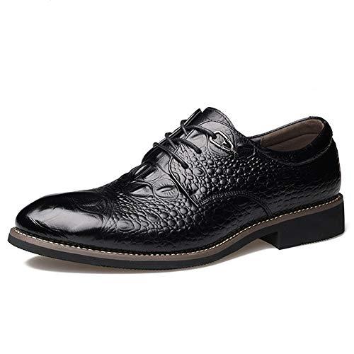 Feidaeu Männer kleiden formelle Schuhe Büro Leder Classic Braun Schwarz Hochzeit Oxfords Business-Schuhe Kenneth Cole Classic Oxfords