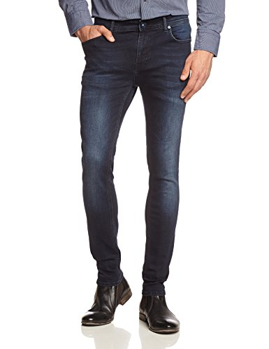 only-sons-herren-skinny-jeans-avi-bay0005a-blue-black-gr-w34-l32-schwarz-black-denim
