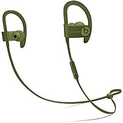 Beats by Dr. Dre Powerbeats3 Casque et Micro Binaural Crochet auricullaire, écouteur Vert sans Fil - Casques et micros (sans Fil, Crochet auricullaire, écouteur, Binaural, Intra-aural, Vert)