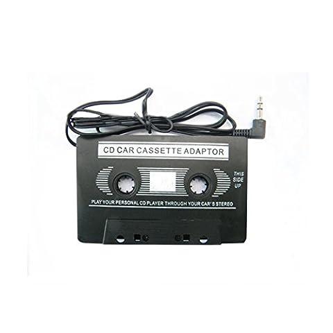 3.5mm Stéréo de voiture adaptateur de cassette pour smartphone iPod MP3Lecteur de CD audio