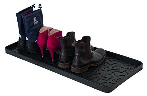Tica - Schuhabtropfschale - Kautschuk 88 x 38 x 3 cm Schuh und Stiefel Motive