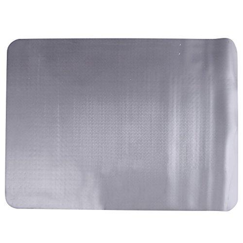 HOMCOM Protector de Suelo PVC Transparente 90x120cm