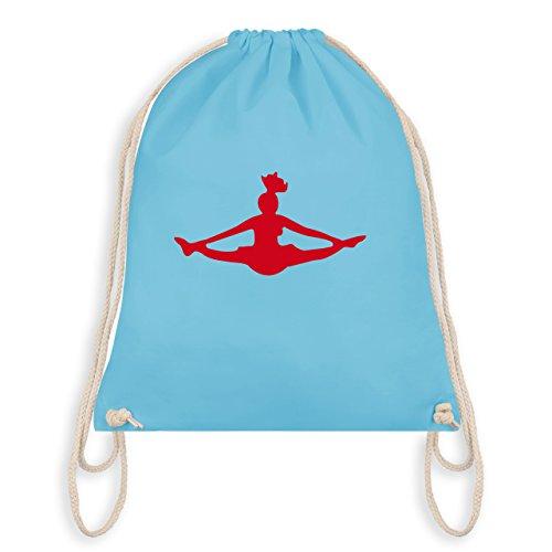 Tanzsport - Cheerleading - Unisize - Hellblau - WM110 - Turnbeutel & Gym Bag