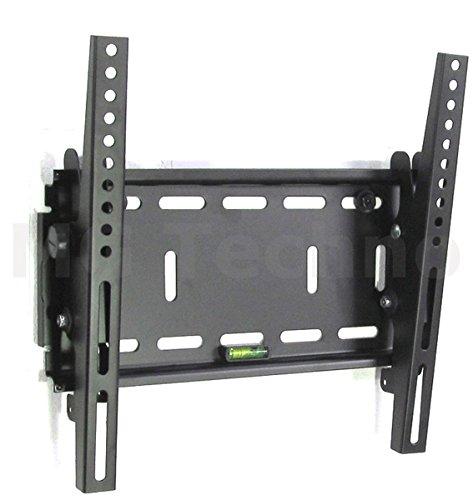 Fair Style Halterung Neigung +/- 15° geeignet für TV und Monitore bis 127 cm Diagonal (50 Zoll) mit VESA Normen in cm: 10x10 | 20x10 | 20x20 | 30x30, Wandabstand max 70 mm , Farbe schwarz, universell passend für alle Monitore und TV-Marke, in bewährte Fair Style-Qualität, Model 9579