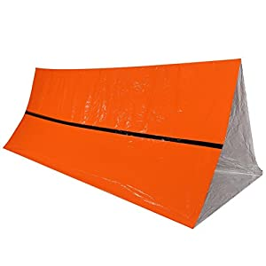 41vZR7VOWQL. SS300  - VGEBY Emergency Survival Thermal Reflective Tent Rescue Shelter Foldable Survival Tent Ourdoor