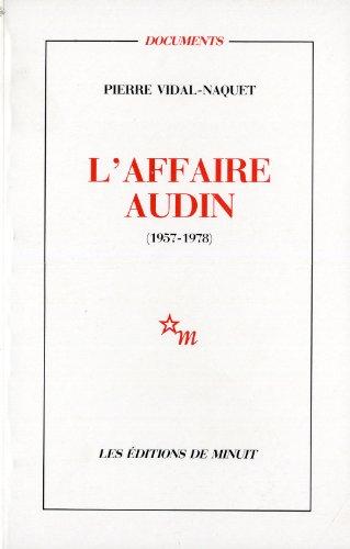 L'Affaire Audin, 1957-1978