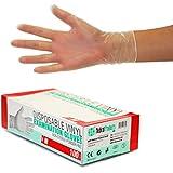 Vinylhandschuhe unsteril puderfrei Gr M 100 Stück Box und 1000 Stück Karton 4,5 (1) (1) (1)