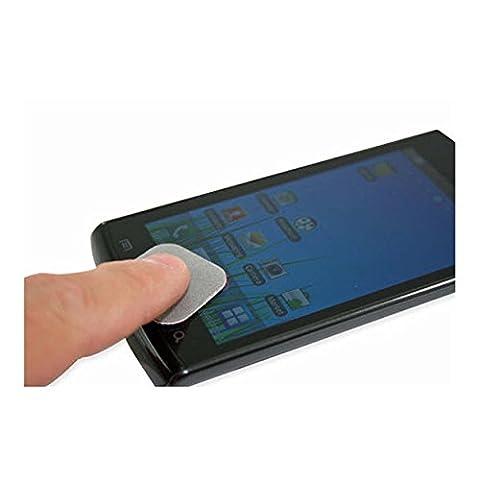 Pro-Tec Black Nano Microfiber Screen Cleaning Pads for Smart Phone,