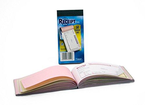 Pukka Pad Quittungsblöcke, 2 Durchschläge, kohlefreies Durchschreibepapier, 69x140mm, Stück