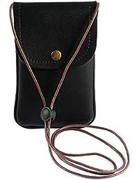 40cdbf6944 Konesky Portafoglio Portafoglio Porta cellulare Porta carte Custodia Porta  carte Slot Custodia con cinturino per donna