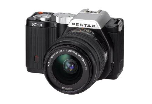 Pentax K-01 + SMC -DA 18-55mm + SMC -DA 50-200mm MILC 16.28MP CMOS 4928 x 3264Pixel Nero