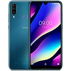 Wiko View3 Smartphone débloqué 4G (Ecran 6, 26 Pouces - 3 Go RAM - 64 Go Stockage - Double Nano-SIM - Android 9 Pie) Electro Bleen