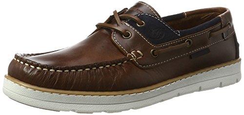Dockers by Gerli 40cm001-182306, Chaussures Bateau Homme, Marron, 40 EU