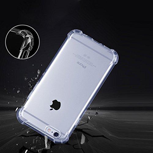 """xhorizon Transparente Handyhülle für iPhone 6 Plus / iPhone 6S Plus (5.5"""") mit Hartplastik und weicher TPU Gel zum Schutz vor Stößen #4"""