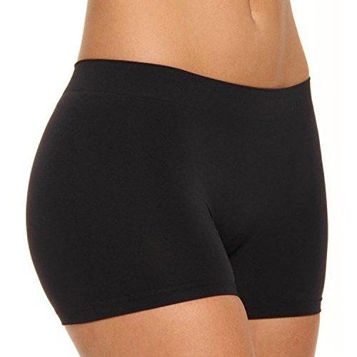 6er Pack Libella Damen Panties Seamless LDU3908 Schwarz L/XL