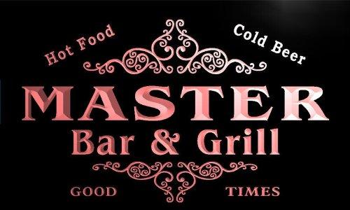 u28743-r-master-family-name-bar-grill-home-beer-food-neon-sign-barlicht-neonlicht-lichtwerbung
