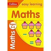 Maths Ages 3-5: New Edition: motivating maths practice for reception year (Collins Easy Learning Preschool)