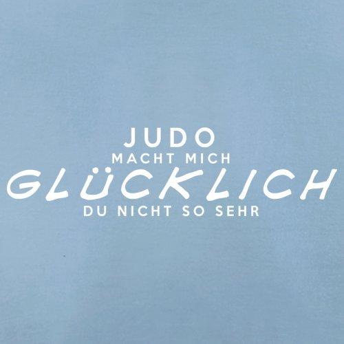 Judo macht mich glücklich - Herren T-Shirt - 13 Farben Himmelblau