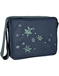 Lassig Casual Messenger Bag Ebony (Stardust) (Ebony (Stardust))