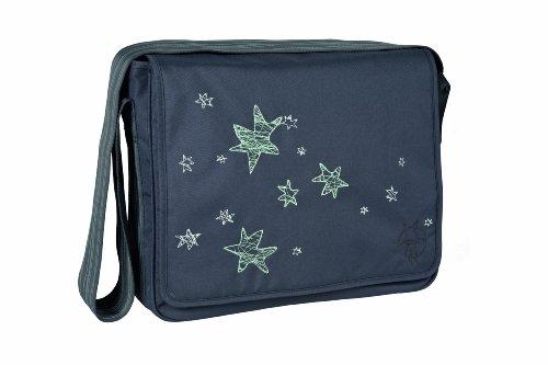 Preisvergleich Produktbild Lässig Casual Messenger Bag Wickeltasche/Babytasche inkl. Wickelzubehör Stardust, ebony