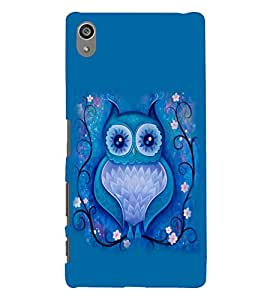 PRINTVISA Abstract Owl Art Case Cover for SONY XPERIA Z5 PLUS