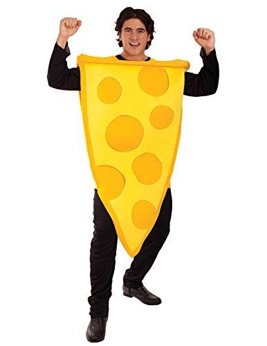Farbenfrohe Kostüme (Erwachsene Käse Kostüm Karneval Fasching Verkleidung)