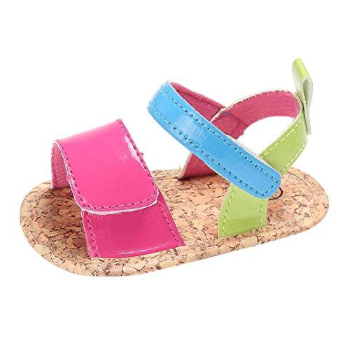 Babyschuhe Longra Baby Sommer Mädchen Krippe Schuhe Soft Sole Neugeborenen Anti-Slip Baby Sneakers Sandalen