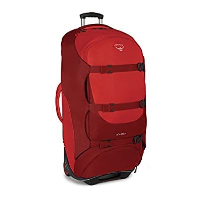 "Osprey Shuttle 36""/130 L Wheeled Luggage, Diablo Red - suitcases"