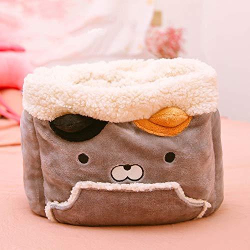 CZHCFF Velvet Cloud Pet Pocket Bett für Zwinger Hund Katze warme Winter Hand Schlafsack Matte Zwinger Heimtierbedarf Pocket Hand Warmers