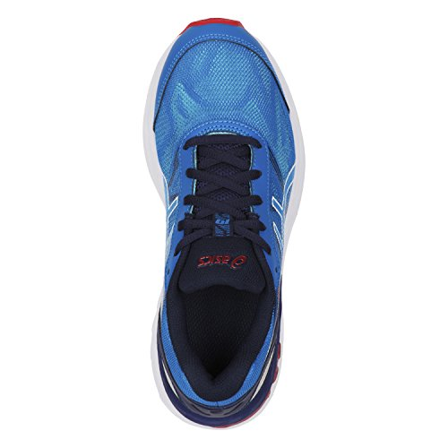 Asics Gel-Nimbus 19 Gs, Chaussures de Gymnastique Mixte Enfant Bleu (Diva Blue/white/indigo Blue)