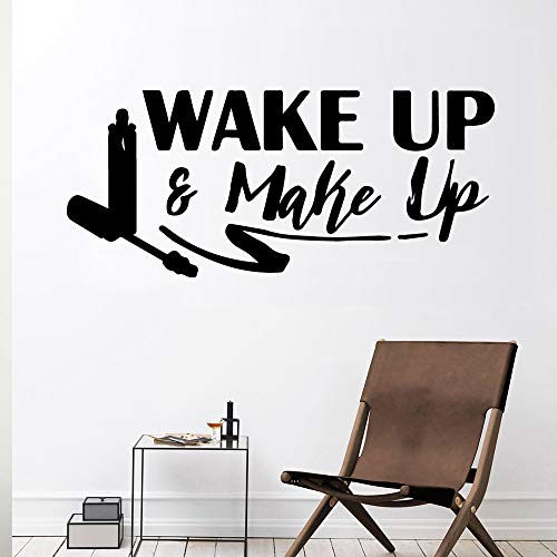 Xinyouzhihi Creativo Despertador Maquillaje Wall Ticker