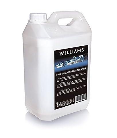 Williams Racing wil0022et tissu nettoyant pour tapis, 5l