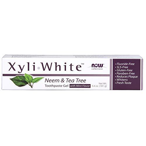 Now Foods Xyliwhite Zahnpasta Gel (XyliWhite Zahnpasta Gel, Neem Tea Tree, 6,4 oz (181 g) - Now Foods)