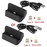 JENOR Magnetische Micro USB + USB Typ C Stecker Ladestation Dock Für Android-Handy S8 Note8 Xiaomi 5 6 Onelus 2 3