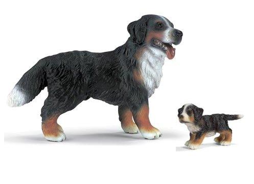 Preisvergleich Produktbild Schleich Berner Sennenhund mit Welpe 16339 + 16344