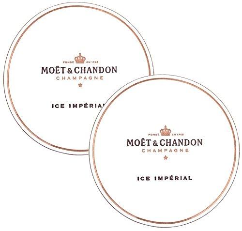 Moet & Chandon Ice Imperial Untersetzer aus Papier für Champagner Gläser