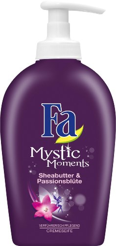 Fa Flüssigseife Mystic Moments Sheabutter & Passionsblüte, 2er Pack (2 x 250 ml)