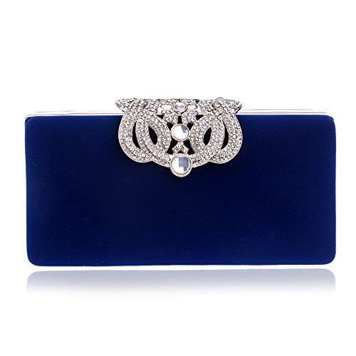 HAPPYTIMEBELT, Poschette giorno donna Royal Blue